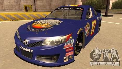 Toyota Camry NASCAR No. 87 AM FM Energy для GTA San Andreas
