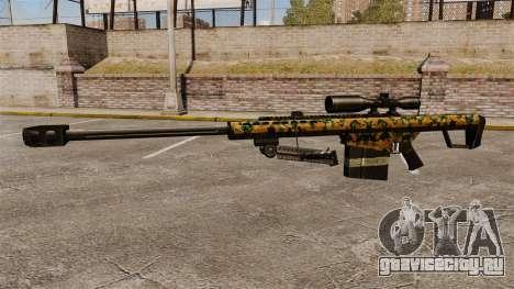 Снайперская винтовка Barrett M82 v13 для GTA 4 третий скриншот