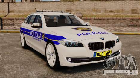 BMW M5 Touring Croatian Police [ELS] для GTA 4