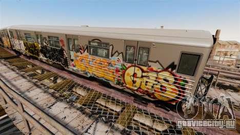Новые граффити для Subway v4 для GTA 4