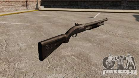 Помповое ружьё Mossberg 590 для GTA 4 второй скриншот