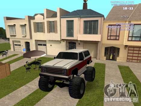Rancher Monster для GTA San Andreas