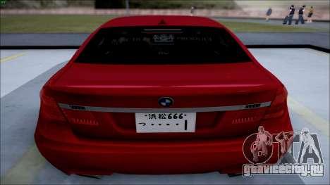 BMW 750 Li Vip Style для GTA San Andreas вид слева