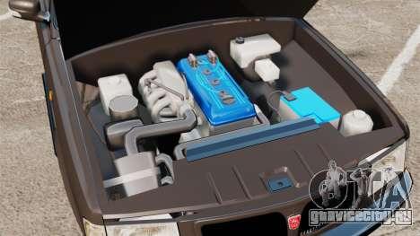 ГАЗ-3110 Пикап для GTA 4 вид изнутри
