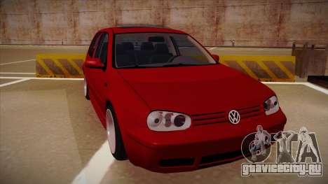 Volkswagen Golf Mk4 Euro для GTA San Andreas вид слева