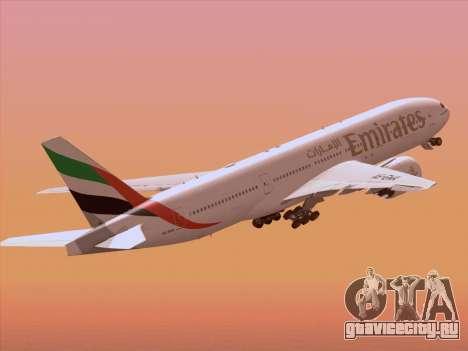 Boeing 777-21HLR Emirates для GTA San Andreas