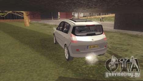 Renault Scenic 2 для GTA San Andreas вид слева