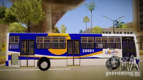 Caio Millenium для GTA San Andreas вид сзади слева
