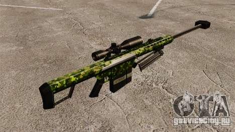 Снайперская винтовка Barrett M82 v4 для GTA 4 второй скриншот