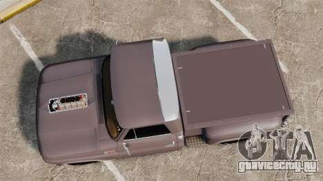 Chevrolet C-10 Stepside v3 для GTA 4 вид справа