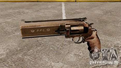 Револьвер Dan Wesson PPC 357 для GTA 4 третий скриншот