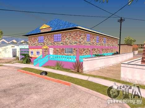 Текстуры дома Карла для GTA San Andreas