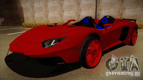 Lamborghini Aventador J V1 для GTA San Andreas