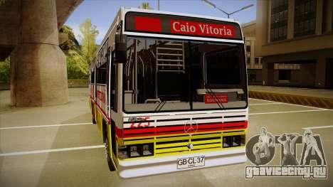 Caio Vitoria MB OF 1318 Metropolitana для GTA San Andreas вид сзади слева