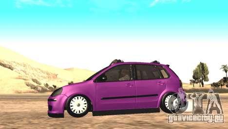 Volkswagen German Polo для GTA San Andreas вид справа