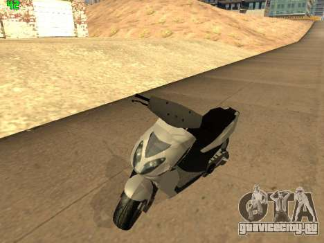 Piaggio NRG для GTA San Andreas вид слева