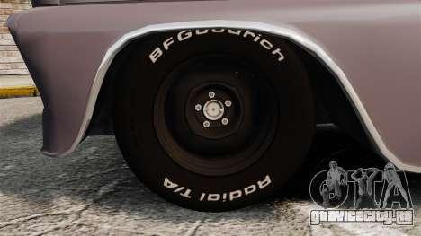 Chevrolet C-10 Stepside v3 для GTA 4 вид сзади