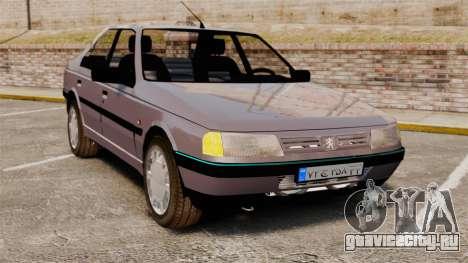 Peugeot 405 GLX для GTA 4