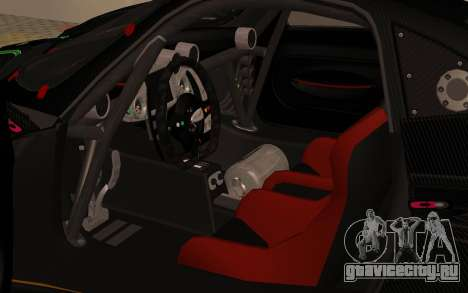 Pagani Zonda R SPS для GTA San Andreas вид сзади