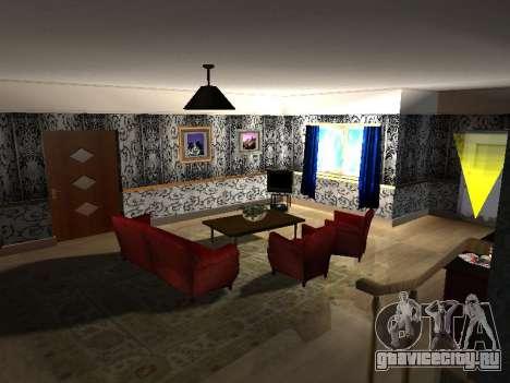 Новый интерьер 2-ух этажного дома CJ для GTA San Andreas