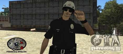 Los Angeles Air Support Division Pilot для GTA San Andreas второй скриншот