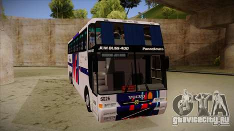 Busscar Jum Buss 400 P Volvo для GTA San Andreas вид слева
