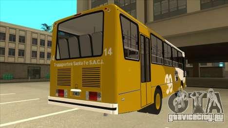 Mercedes-Benz OHL-1320 Linea 39 для GTA San Andreas вид справа