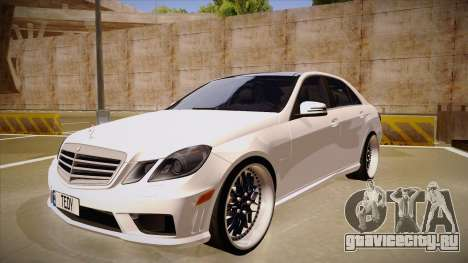 Mercedes-Benz E63 6.3 AMG Tedy для GTA San Andreas