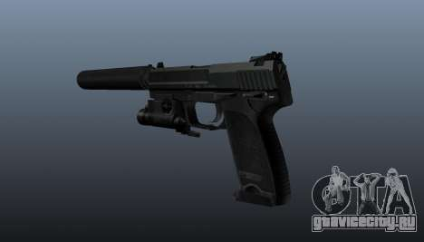Пистолет HK USP 45 для GTA 4 второй скриншот