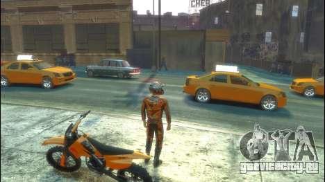 Мотоциклист для GTA 4 четвёртый скриншот