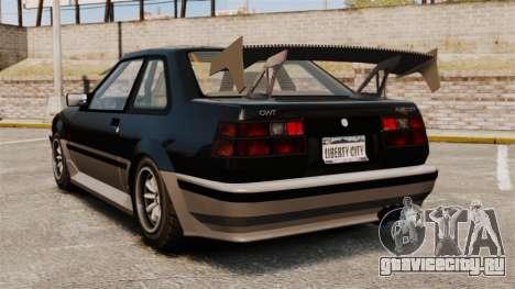 Обновлённый Futo для GTA 4 вид сзади слева
