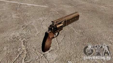 Револьвер Dan Wesson PPC 357 для GTA 4 второй скриншот