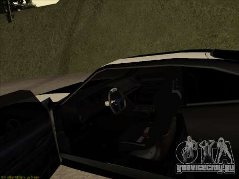New Jester для GTA San Andreas вид сзади