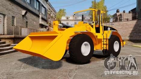 Фронтальный колёсный погрузчик Caterpillar 966G для GTA 4 вид изнутри