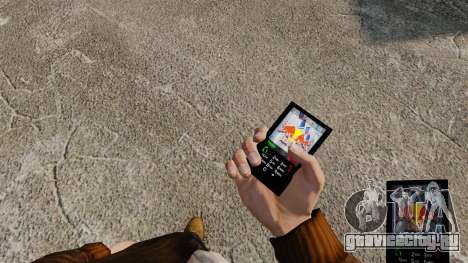 Темы для телефона брендов напитков для GTA 4 четвёртый скриншот