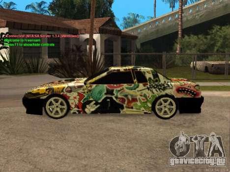 New Elegy для GTA San Andreas вид сверху