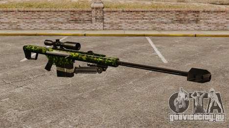 Снайперская винтовка Barrett M82 v4 для GTA 4