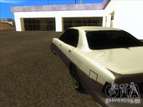 New Merit для GTA San Andreas вид справа