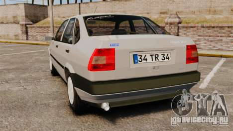 Fiat Tempra SX.A для GTA 4 вид сзади слева