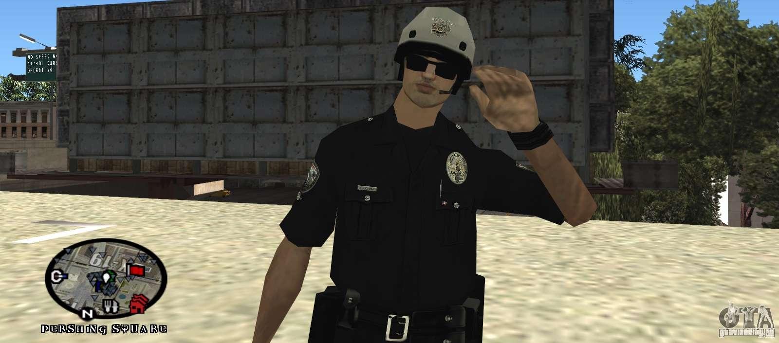 Скачать скин Полиции для GTA San Andreas