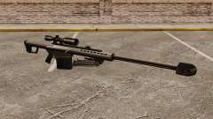 Снайперская винтовка Barrett M82 v1 для GTA 4