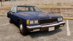 Chevrolet Caprice 1986 для GTA 4