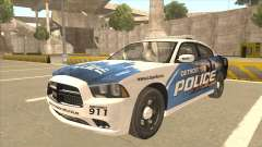 Dodge Charger Detroit Police 2013 для GTA San Andreas