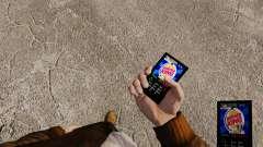 Темы для телефона фаст-фуд брендов для GTA 4