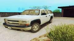 Chevrolet Suburban SAPD FBI для GTA San Andreas