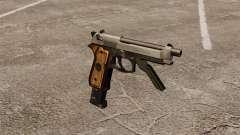 Автоматический пистолет Beretta M93R для GTA 4