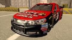 Chevrolet SS NASCAR No. 36 Accell для GTA San Andreas
