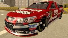 Chevrolet SS NASCAR No. 39 Quicken Loans для GTA San Andreas