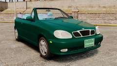 Daewoo Lanos 1997 Cabriolet Concept v2