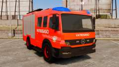 Mercedes-Benz Atego Koprivnica Fire Dept. [ELS] для GTA 4